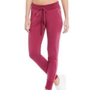 Free People Movement Red Sunny Skinny Sweatpants